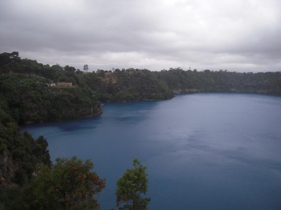 lago blù
