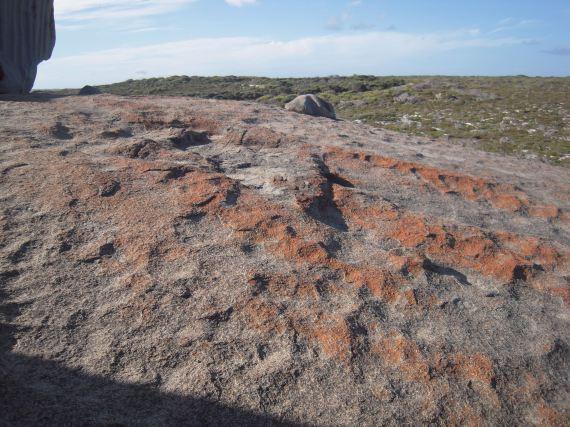massi giganti di granito