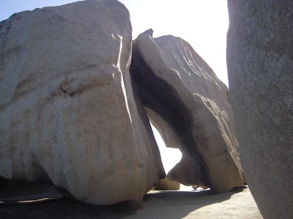 rocce sospese