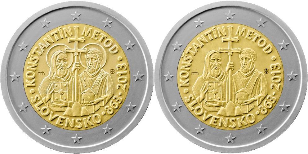 Le-due-versioni-delleuro-slovacco-2013