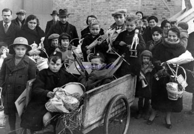 sfollati dalla città di Mestre- Venezia