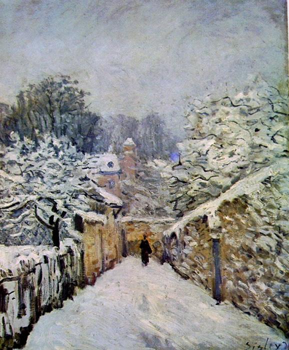 45 Sisley-la neve a louveciennes