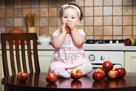 che buone le mele!