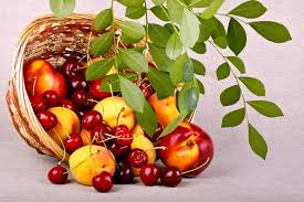 cestello di frutta