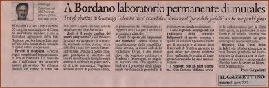 notizie da Bordano