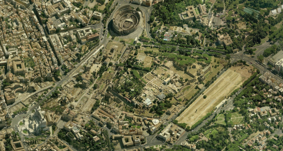 Roma - 10 Campidoglio - fori - circo massimo - colosseo
