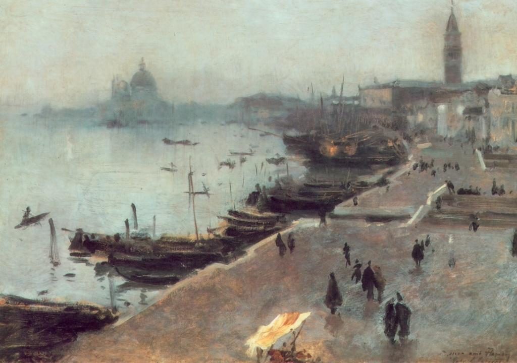 Venezia tempo grigio