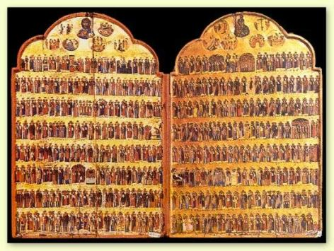 Hagiologion Calendar Icon Sinai XIII sec
